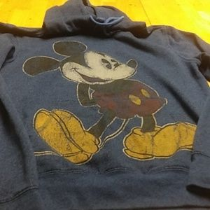 Disney parks authentic hoodie (Mickey) USED!